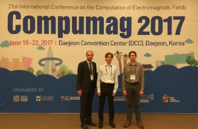 Our colleagues participated on conference COMPUMAG 2017