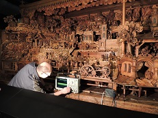 Researchers from RICE participated on the restoration of the famous Probošt's Mechanical Christmas Crib